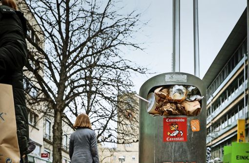 Viele Mülltonnen am Mittwoch nicht geleert