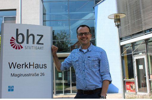 Seit 2003 ist der heute  49-jährige Stefan Wegner  beim Bhz in Feuerbach tätig. Nun sucht er in Ludwigsburg eine neue Herausforderung. Foto: Torsten Ströbele