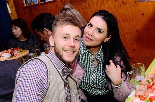 VfB-Offensivmann Alexandru Maxim mit seiner Freundin Cristina Foto: 7aktuell.de/ Geroi