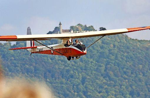 Fliegende  Segelflug-Oldtimer als Museum