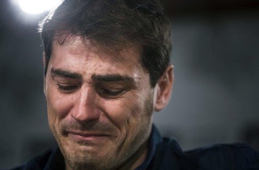 Ein bewegter Abschied unter Tränen