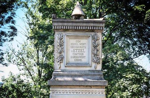 Etzel-Denkmal: Ehrung mit Aussicht