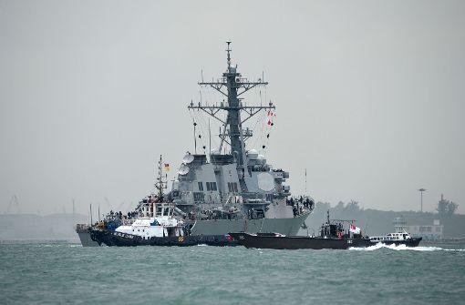 US-Zerstörer erreicht Singapur