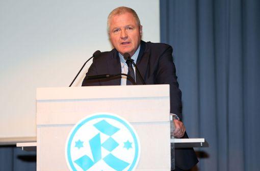 Präsident Rainer Lorz bleibt – aber nur noch die kommende Amtszeit
