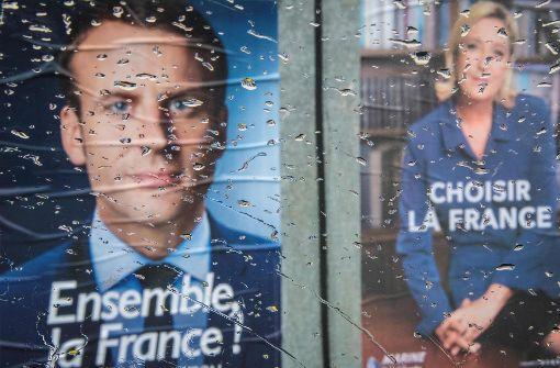 Mit Macron arrangieren oder Le Pen riskieren?