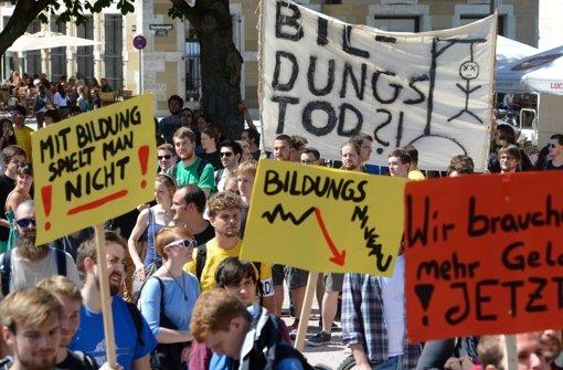 Rektoren fordern mehr Geld für Unis