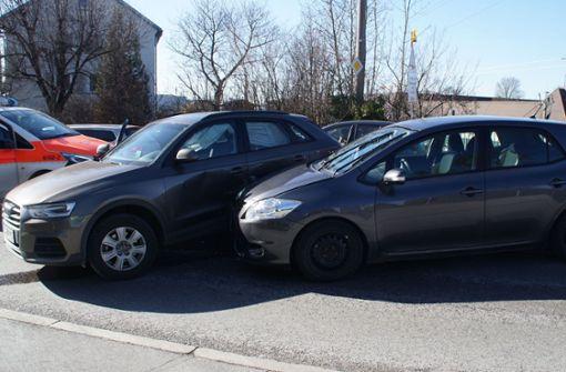 Die Unfallstelle auf der Sindelfinger Straße in Böblingen. Foto: SDMG