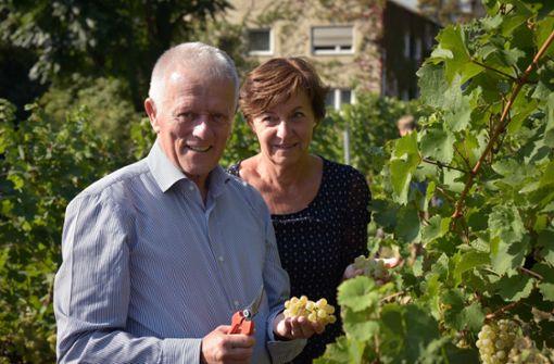 OB Kuhn ist stolz auf das städtische Weingut