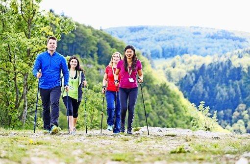 Beim längsten Lauf sind 644 Höhenmeter zu bewältigen
