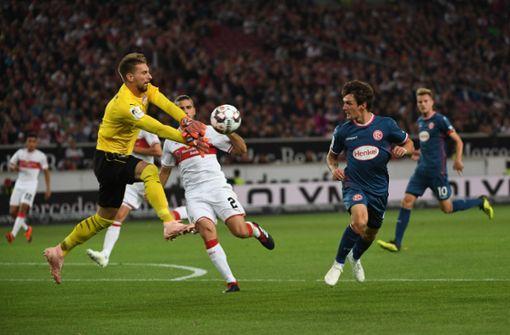 Nullnummer gegen Düsseldorf – VfB weiter ohne Sieg