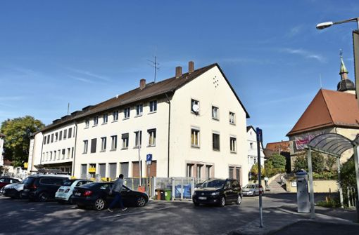 Einkaufsquartier im Ortskern