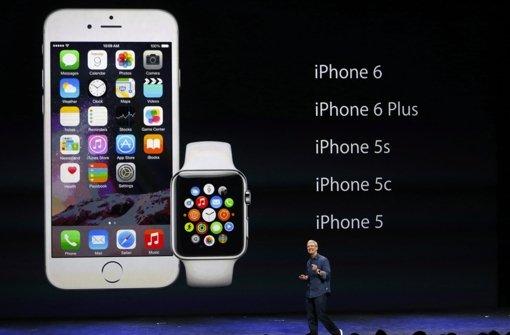 Dank iPhone 6 die Rekorde gebrochen