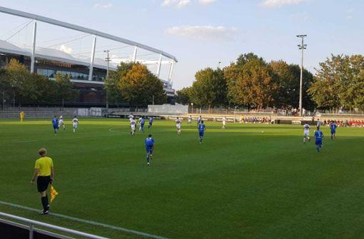 Liveticker: Der VfB führt gegen die Stuttgarter Kickers