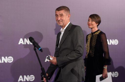 Euroskeptiker Andrej Babis gewinnt Parlamentswahl