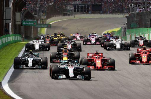Lewis Hamilton sichert Mercedes die Konstrukteurs-WM