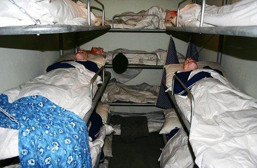 Viel Platz hatten die Menschen im Bunker nicht Foto: Archiv Bernd Zeyer