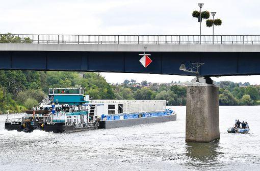 Atommüll erreicht Zwischenlager am Neckar
