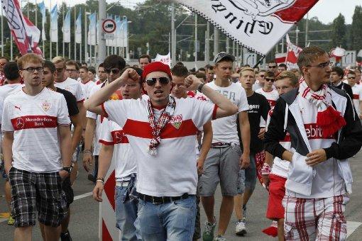Die Stimmung der VfB-Fans im Video
