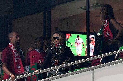Madonna bejubelt Sieg der Portugiesen