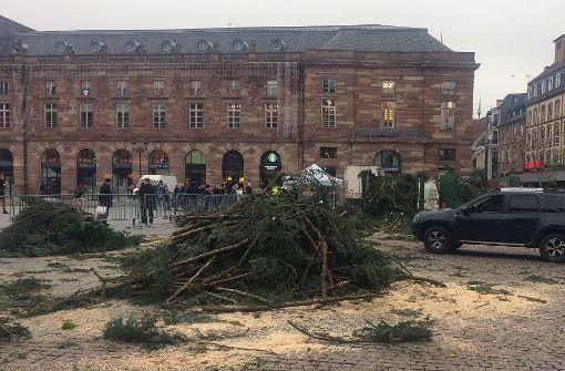 Straßburg kämpft um Weihnachtsbaum