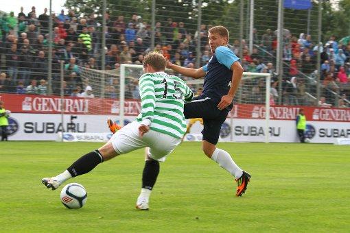 Kickers feiern 1:0-Sieg über Celtic