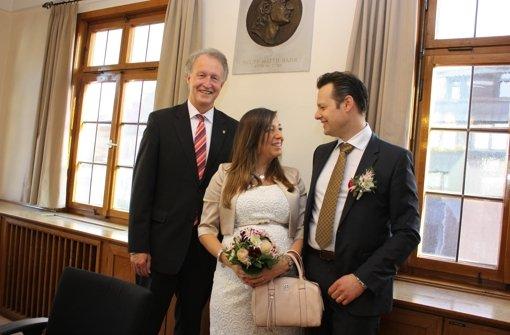 """Sozialbürgermeister Kalbfell sagt """"Ja"""" zu seiner Camila"""