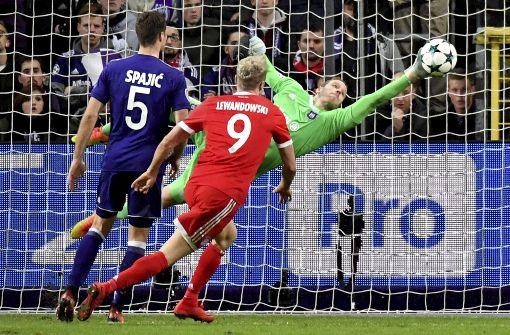 FC Bayern wahrt Mini-Chance auf Gruppensieg