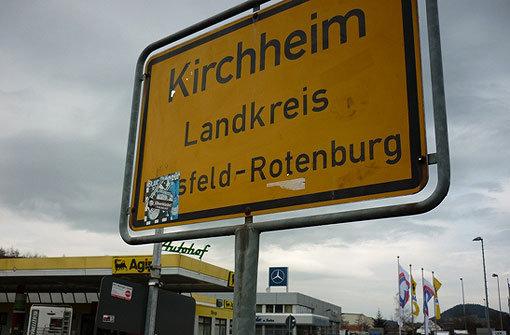 Kirchheim, das Autobahn-Dorf