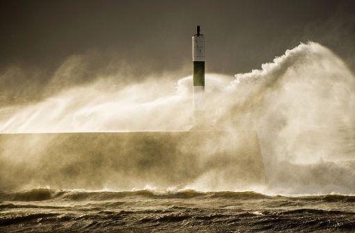 Sturm zieht weiter nach Schottland