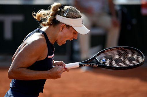 Starkes deutsches Tennis-Sextett in dritter Runde