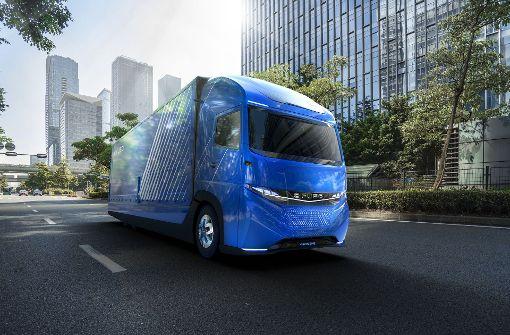 Daimler-Tochter Fuso stellt schweren Elektro-Lastwagen vor
