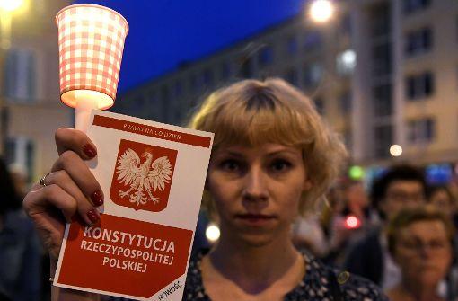 Polens Jugend macht mobil