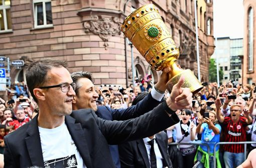 Fredi Bobic hat in Frankfurt noch viel vor. Foto: dpa