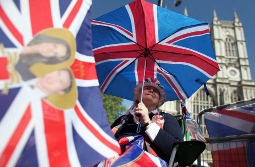 Westminster Abbey, Tea Time und die Royals: Die Briten haben ein starkes Nationalgefühl. Foto: dpa