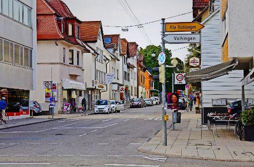Stadt gräbt an  der Filderbahnstraße