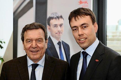 Schröder unterstützt Schmid