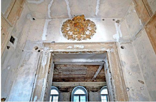 Teures Detail: die Zierelemente im Grafenbau sollen erhalten bleiben. Foto: factum/Weise