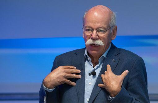 Daimler-Chef fordert ein vereintes Europa