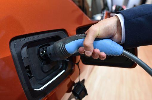 E-Autos im Fokus der Automobilausstellung