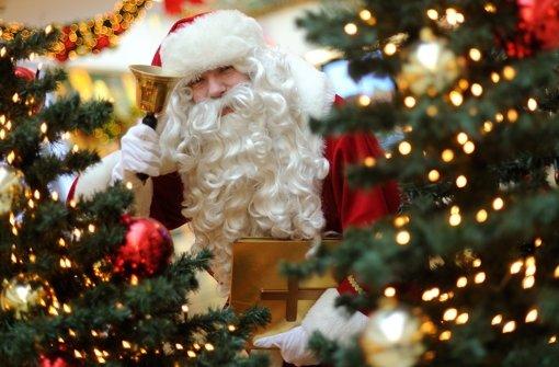 Weihnachtsmann bleibt stecken