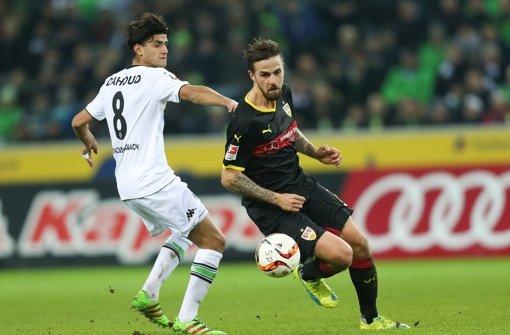 Martin Harnik fällt beim VfB Stuttgart für die Partie gegen Bayer 04 Leverkusen aus. Foto: dpa