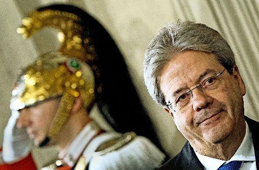 Italiens überraschend kurze Regierungskrise