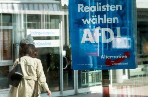 Bei den Landtagswahlen in Baden-Württemberg, Rheinland-Pfalz und Sachsen-Anhalt hatte die AfD zweistellige Ergebnisse erzielt. Foto: dpa