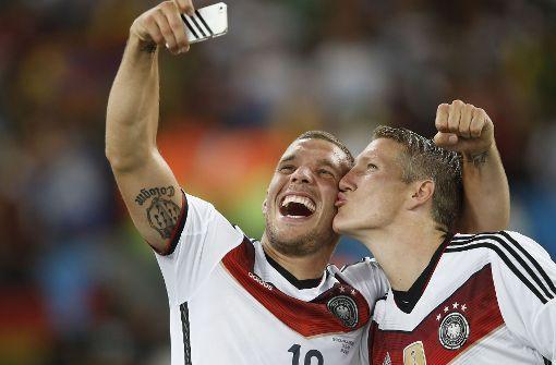 """""""Die Liebe zum Fußball, die ist so wie mit der Familie und der Frau. Die ist immer da."""" Foto: AFP"""