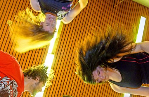 Headbanging als Fitness-Programm