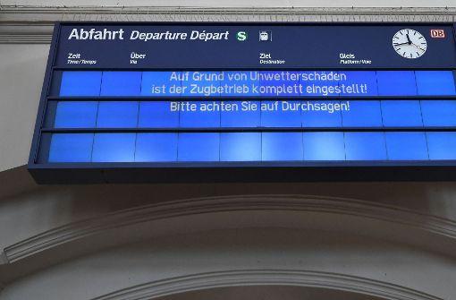 Deutsche Bahn kehrt langsam zur Tagesordnung zurück