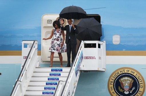 Präsident Obama auf Kuba eingetroffen