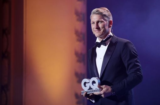 """Bastian Schweinsteiger wurde mit dem """"Sports Icon""""-Award ausgezeichnet. Foto: Getty Images Europe"""