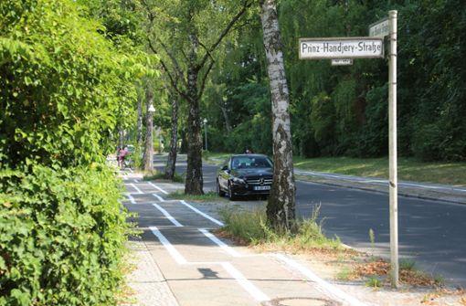 Zickzack-Radweg sorgt für Spott im Netz