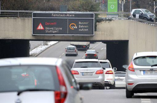 Stuttgart ruft wieder Feinstaubalarm aus